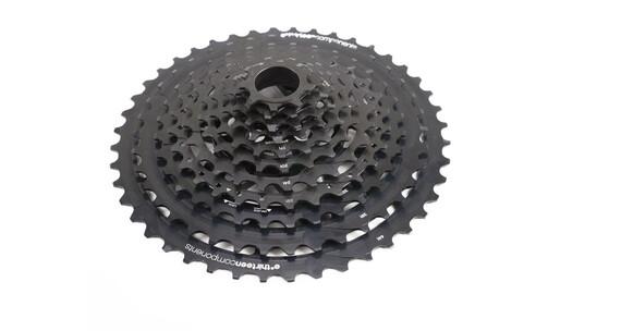 e*thirteen TRS+ Kaseta rowerowa 11-biegowe/Super Light/edycja limitowana czarny